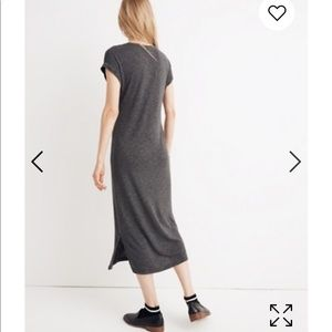 Madewell Scoop Neck Midi T-shirt Dress
